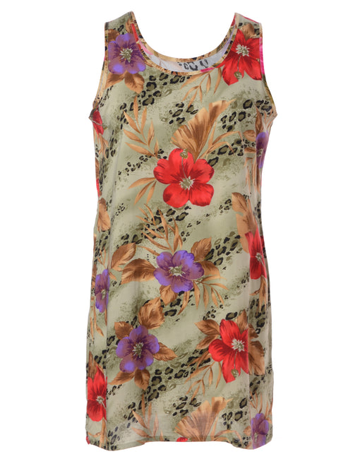 Label Hawaiian Short Dress