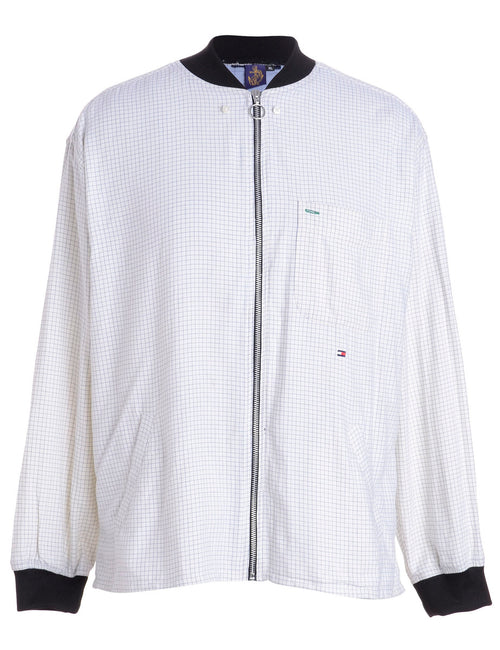Label Jamie Branded Straight Hem Bomber Jacket
