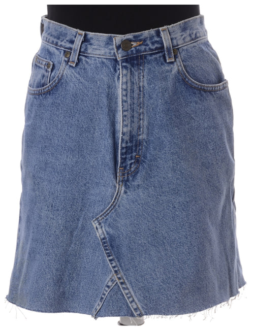 Label Jess Denim Jeans Mini Skirt