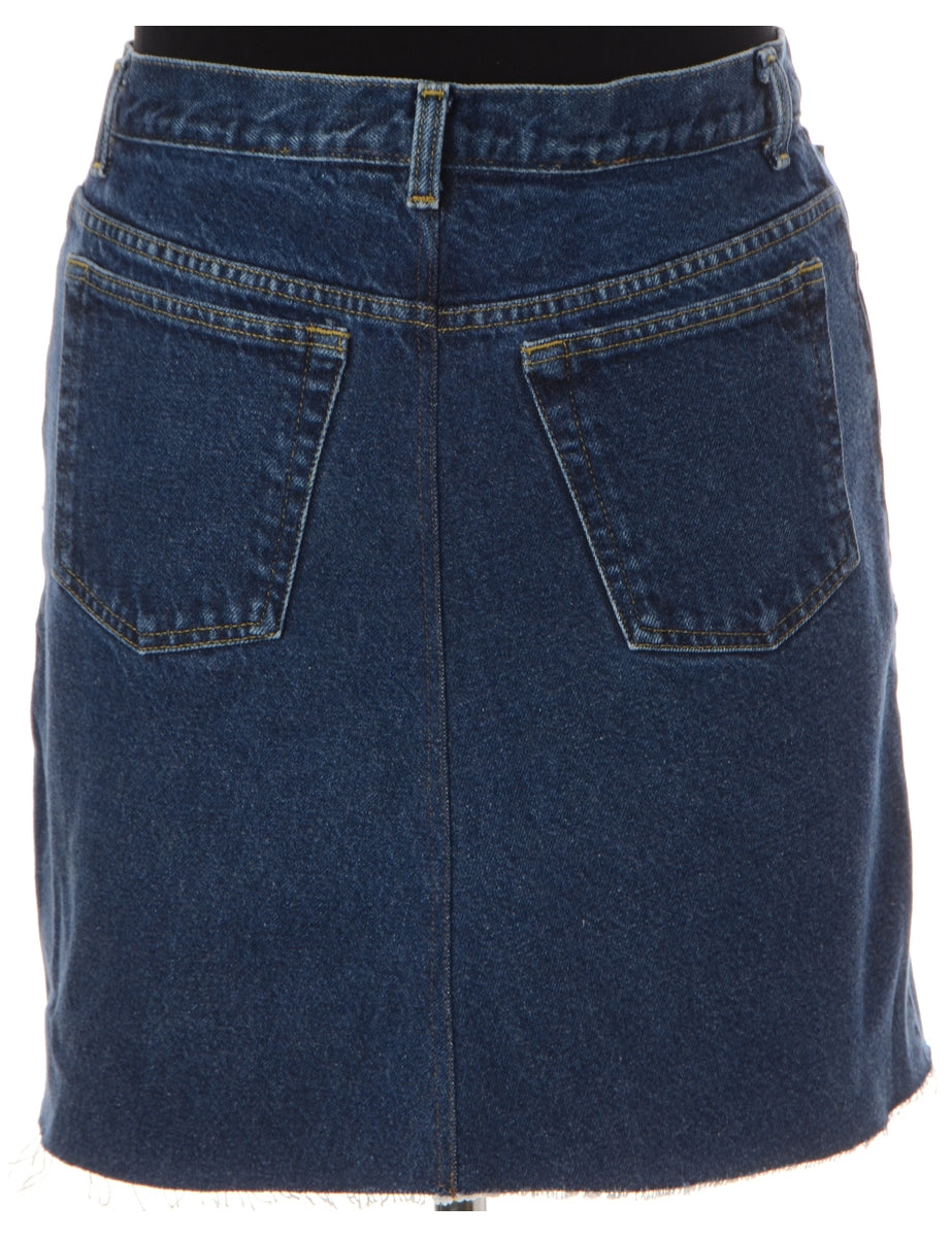 Beyond Retro Label Label Jess Denim Jeans Mini Skirt