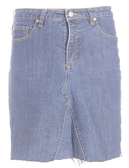 Label Jess Denim Mini Skirt