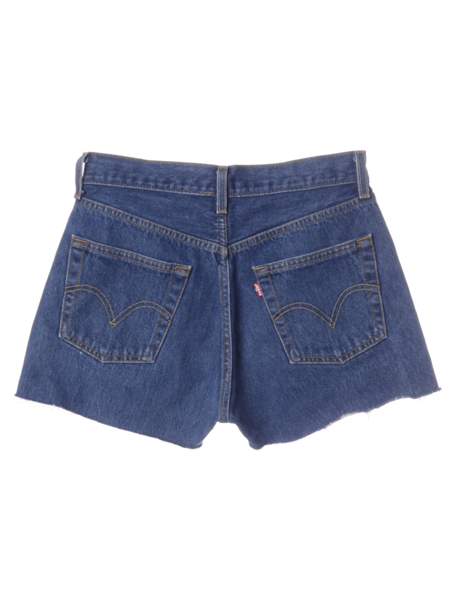 Beyond Retro Label Label Molly Frayed Denim Shorts