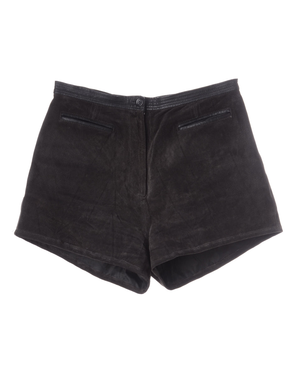 Beyond Retro Label Label Naomi Suede Shorts
