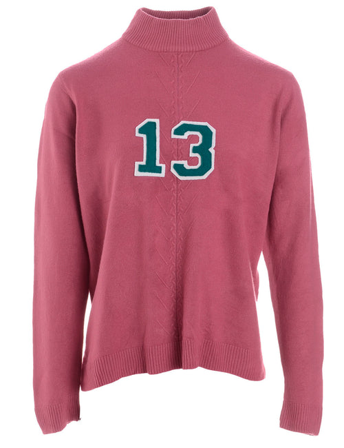 Label Pale Pink Varsity Knit
