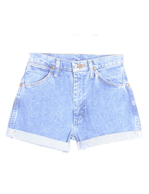 Label Willow Rolled Hem Denim Shorts