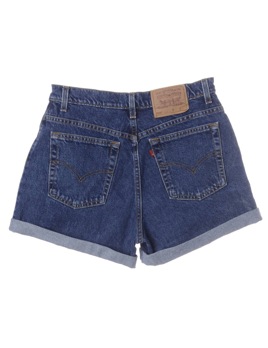 Beyond Retro Label Label Willow Rolled Hem Denim Shorts