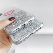Heart Confetti Case for iPhone X