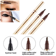 InstaBrow® Waterproof Double-Sided Eyebrow Pen (50% Off)