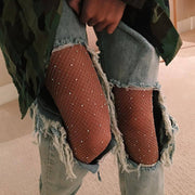 Crystal Fishnet Stockings