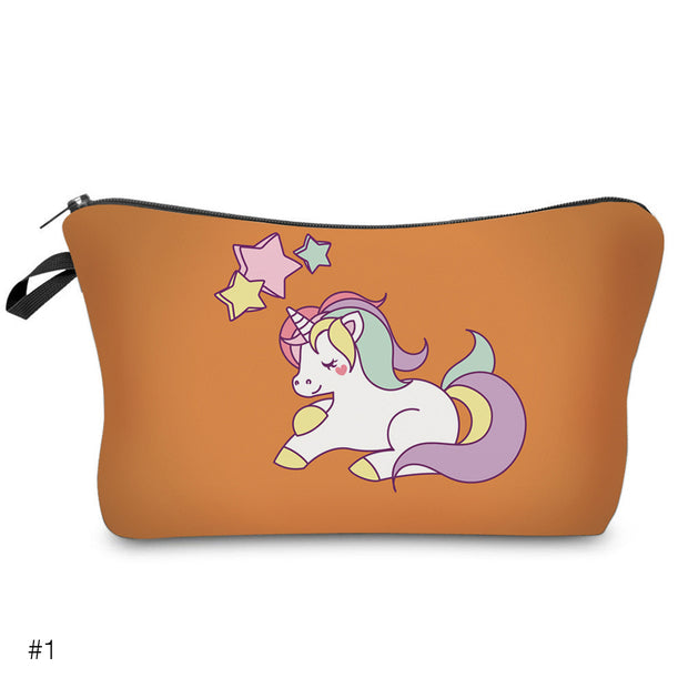 Luxe Unicorn Cosmetic & Makeup Bag