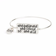 She Believed 2017 Bracelet