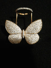 Butterfly Ring - Silver / Gold