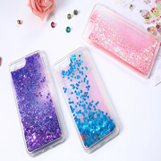 Swirling Heart Glitter Case for iPhone