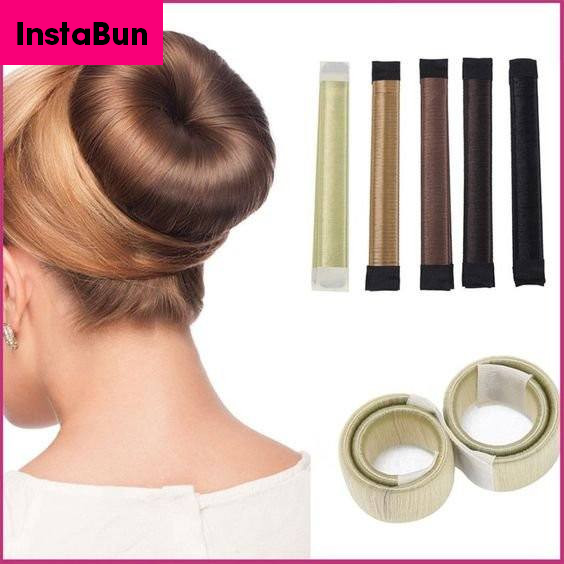 InstaBun® DIY Hair Bun Maker