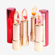 24 Karat Gold Flower Jelly Lipstick (Cruelty Free)