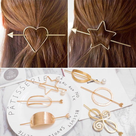 Precious Metal Hair Pin
