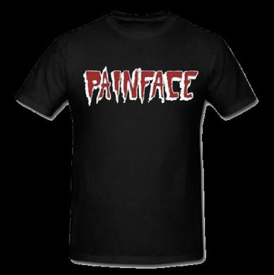 Red White and Black PainFace Logo T-SHIRT