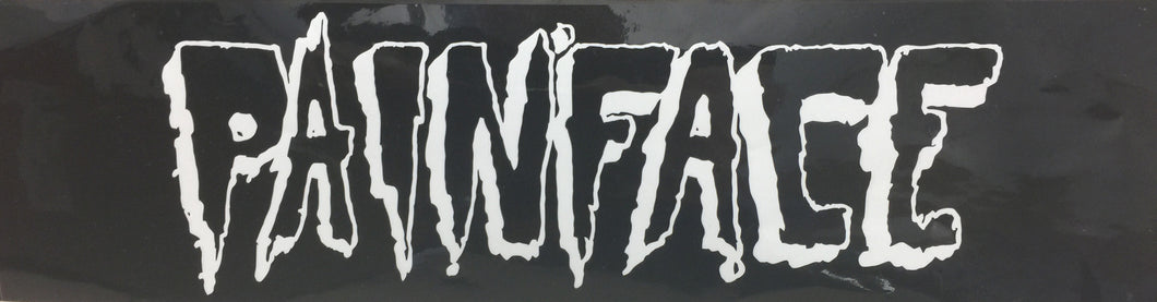 Painface Logo Bumper Sticker