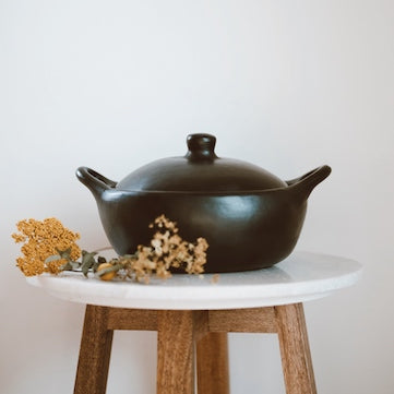 Unglazed Clay Cookware CASSEROLE