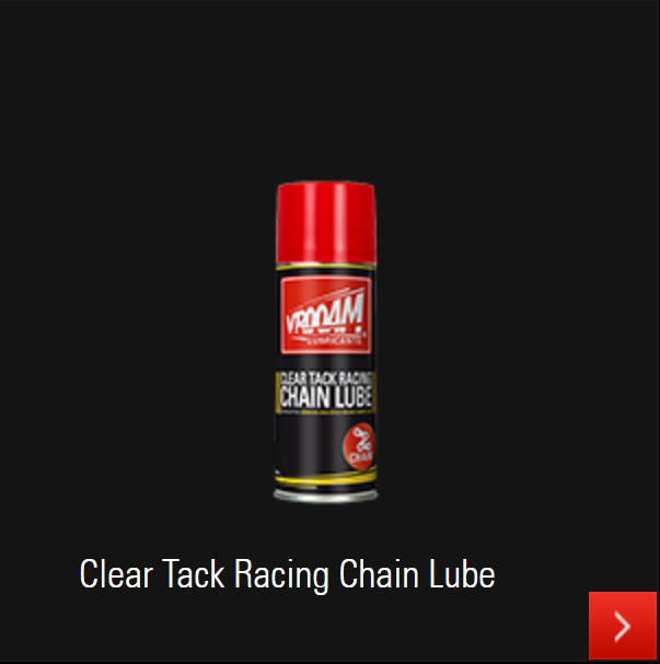 VROOAM Clear Tak Racing Chain Lube