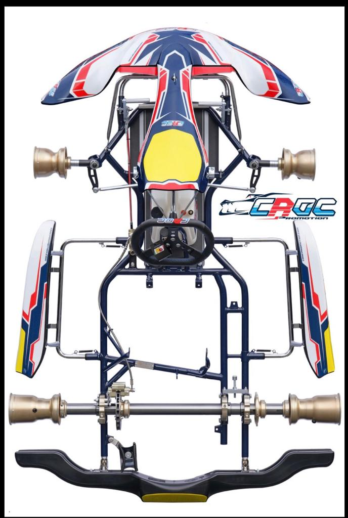 KZ-US-01 SHIFTER KART - BUILT FOR AMERICAN TRACKS AND TIRES