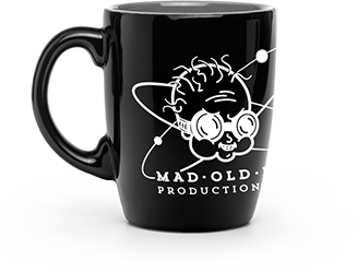 MAD  OLD NUT MUG