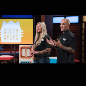 Shark Tank Appearance  and Great Press for Kitty Kasas!