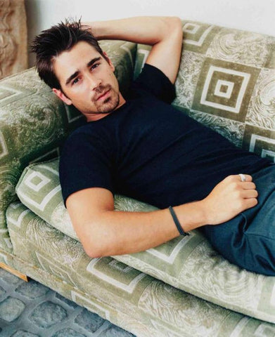 Handsome irish actor Colin Farrell
