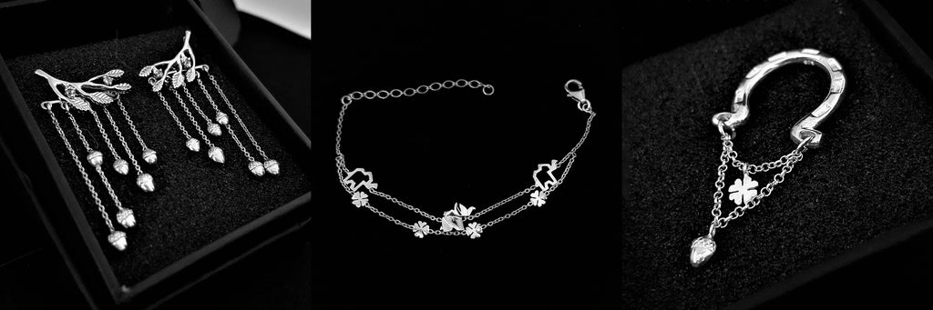 Sterling Luck silver lucky charm jewelry