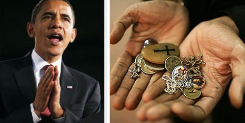 Obama and his lucky charms