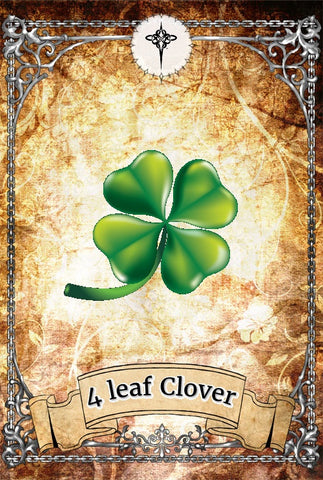 Good Luck Symbol - 4 Leaf Clover