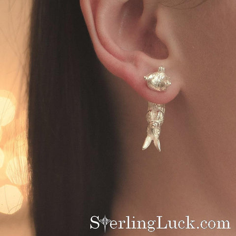 Stuck Bunny Earring (one side only)