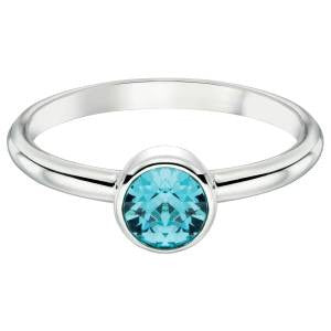 Aquamarine Swarovski Ring
