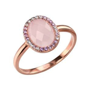 Rose Quartz Halo