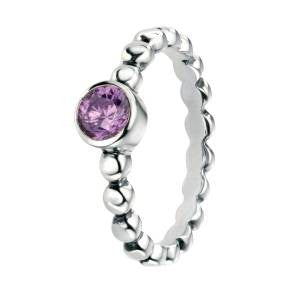 Amethyst Bead Ring