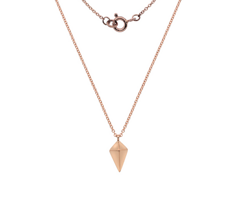 Rose Gold Kite Necklace
