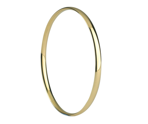 Gold Court Bangle