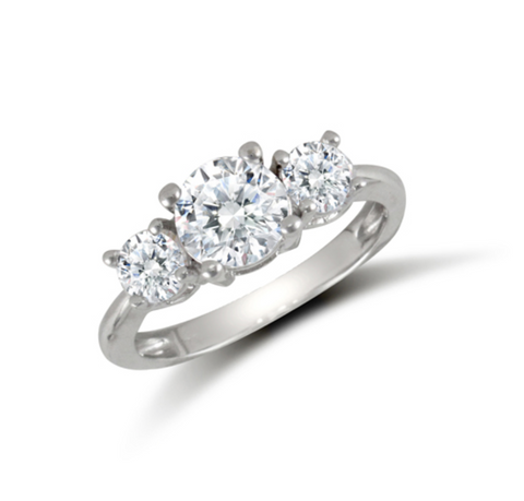 Trilogy CZ Ring
