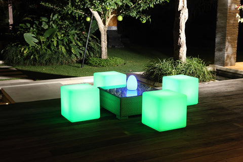Picture of cube stools