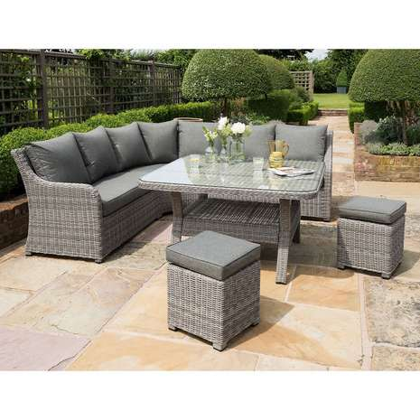 Handpicked Shelby outdoor corner lounge set