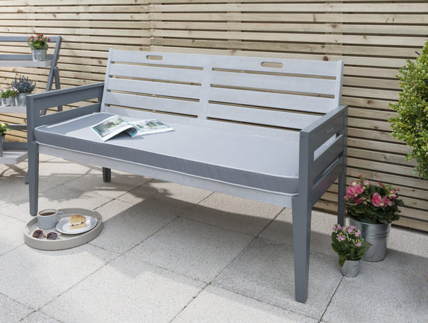 Grigio Three Seat Bench Set
