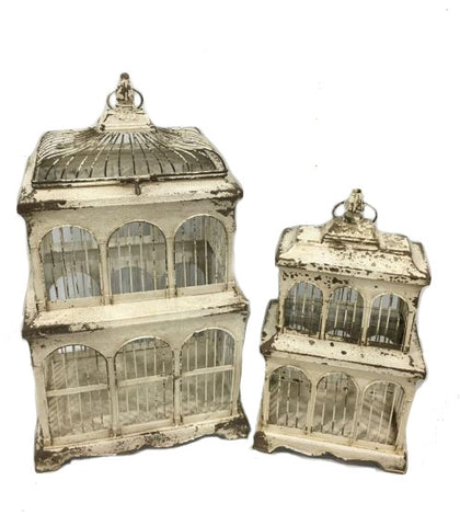 Victorian Style Birdcage (Set Of 2)