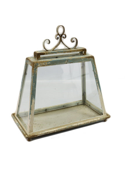 Rectangle Cloche With Base