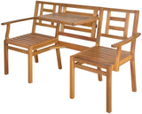 Wooden Chat Bench FSC 100%