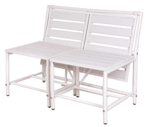 White Magical Bench