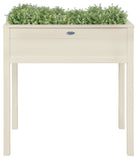 Rectangle Planter On Legs (Cream) FSC 100%