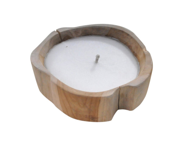 Teak Root Candle