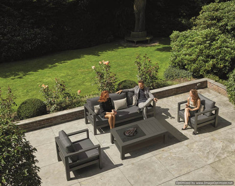 Delta Lounge Set with Firepit