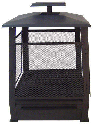 Square Heater With Mesh Door
