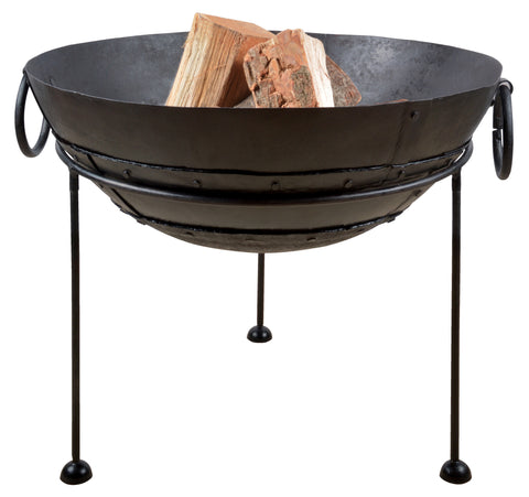 Reclaimed Metal Fire Bowl